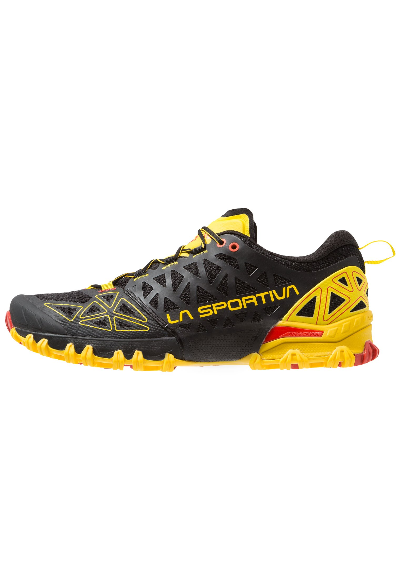 BUSHIDO II Scarpe da trail running blackyellow