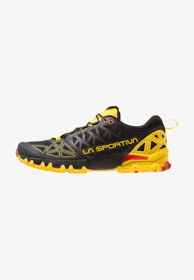 BUSHIDO II - Laufschuh Trail - black/yellow