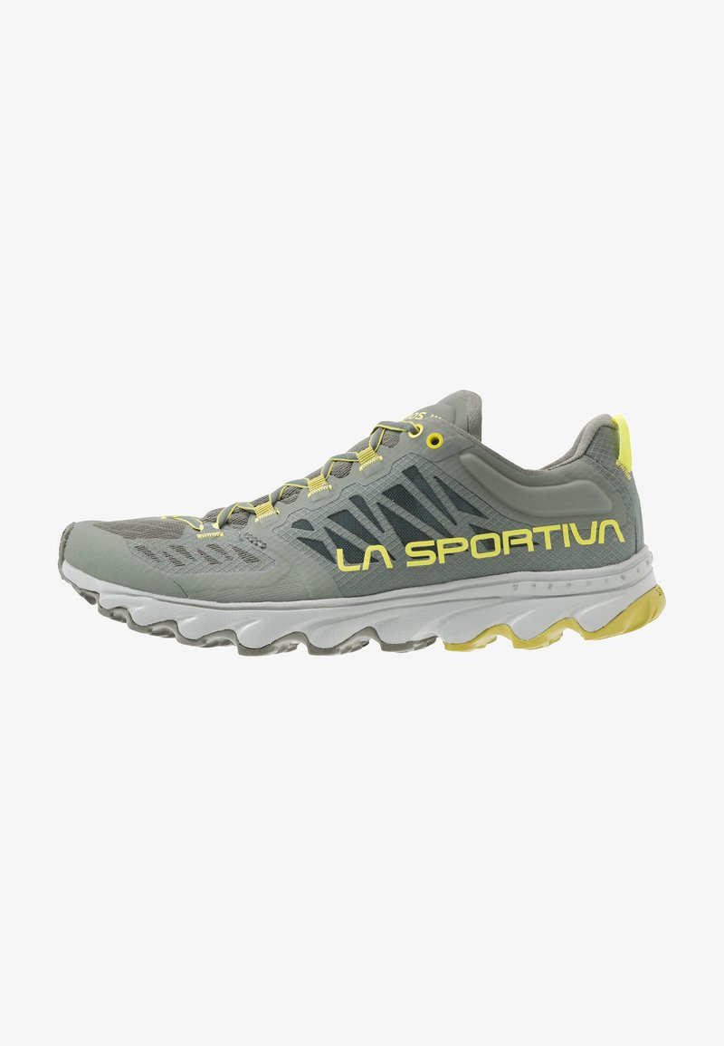 La Sportiva - HELIOS III - Trail running shoes - clay/citrus