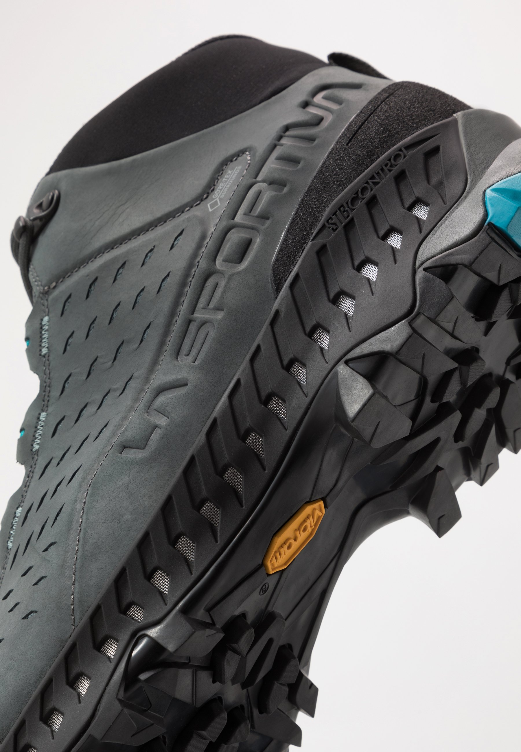 La Sportiva Pyramid Gtx - Hikingskor Carbon/tropic Blue