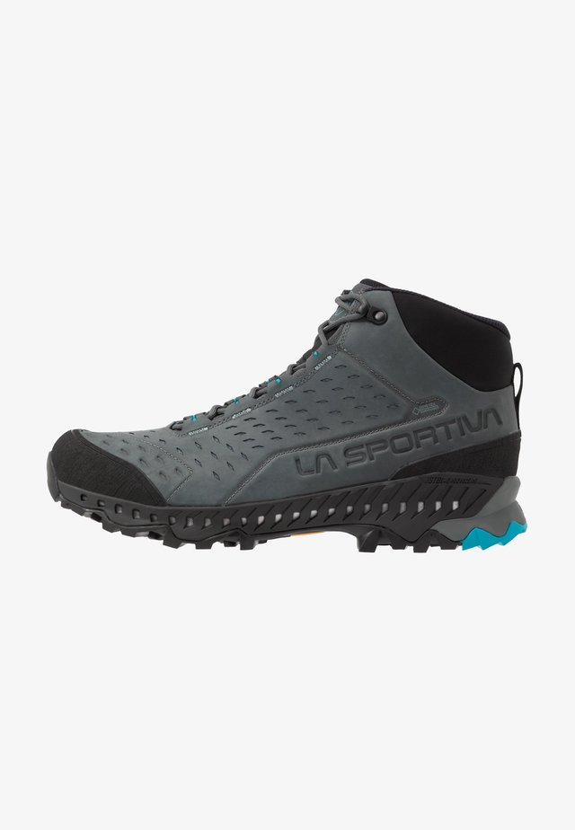 PYRAMID GTX - Hikingskor - carbon/tropic blue