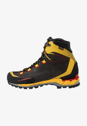 TRANGO TECH GTX - Obuwie hikingowe - black/yellow