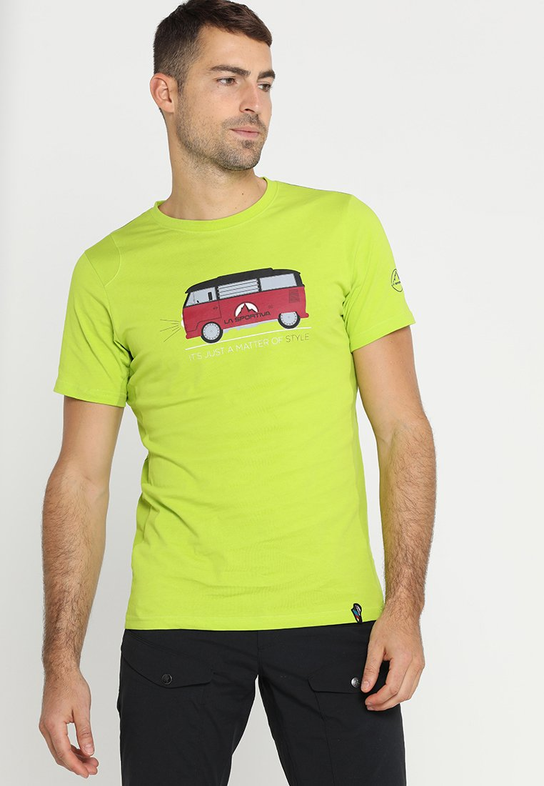 La Sportiva - VAN - Print T-shirt - apple green