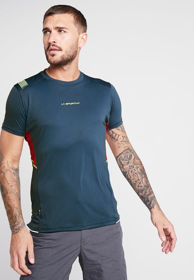 La Sportiva - BLITZ - Print T-shirt - opal/chili