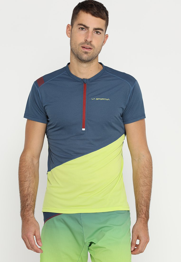 La Sportiva - LIMITLESS - Print T-shirt - opal/apple green