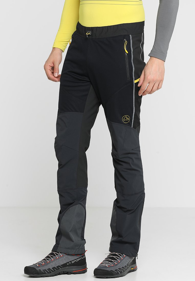 La Sportiva - SOLID PANT  - Friluftsbyxor - black