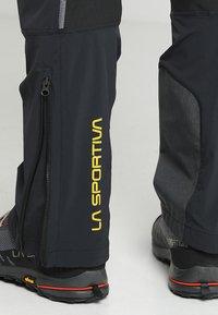 La Sportiva - SOLID PANT  - Pantalons outdoor - black - 3
