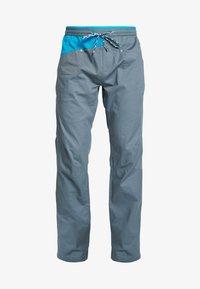 La Sportiva - BOLT PANT  - Trousers - slate/tropic blue - 6