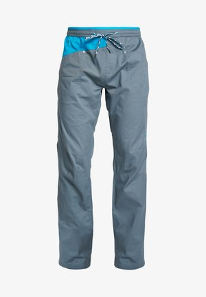 BOLT PANT  - Spodnie materiałowe - slate/tropic blue