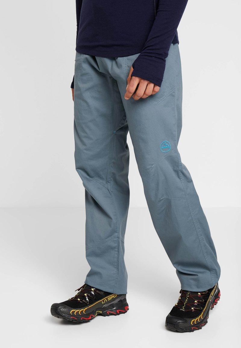 La Sportiva - BOLT PANT  - Trousers - slate/tropic blue