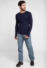 La Sportiva - BOLT PANT  - Trousers - slate/tropic blue - 1