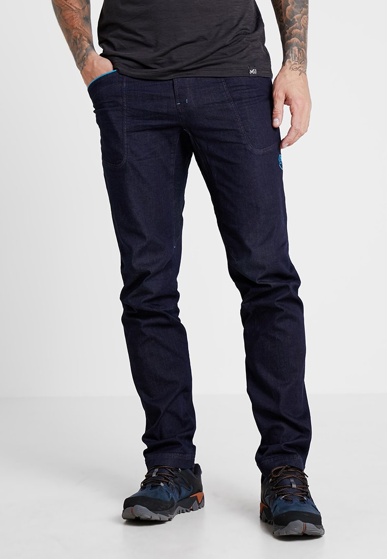 La Sportiva - CAVE - Trousers - blue/turquoise