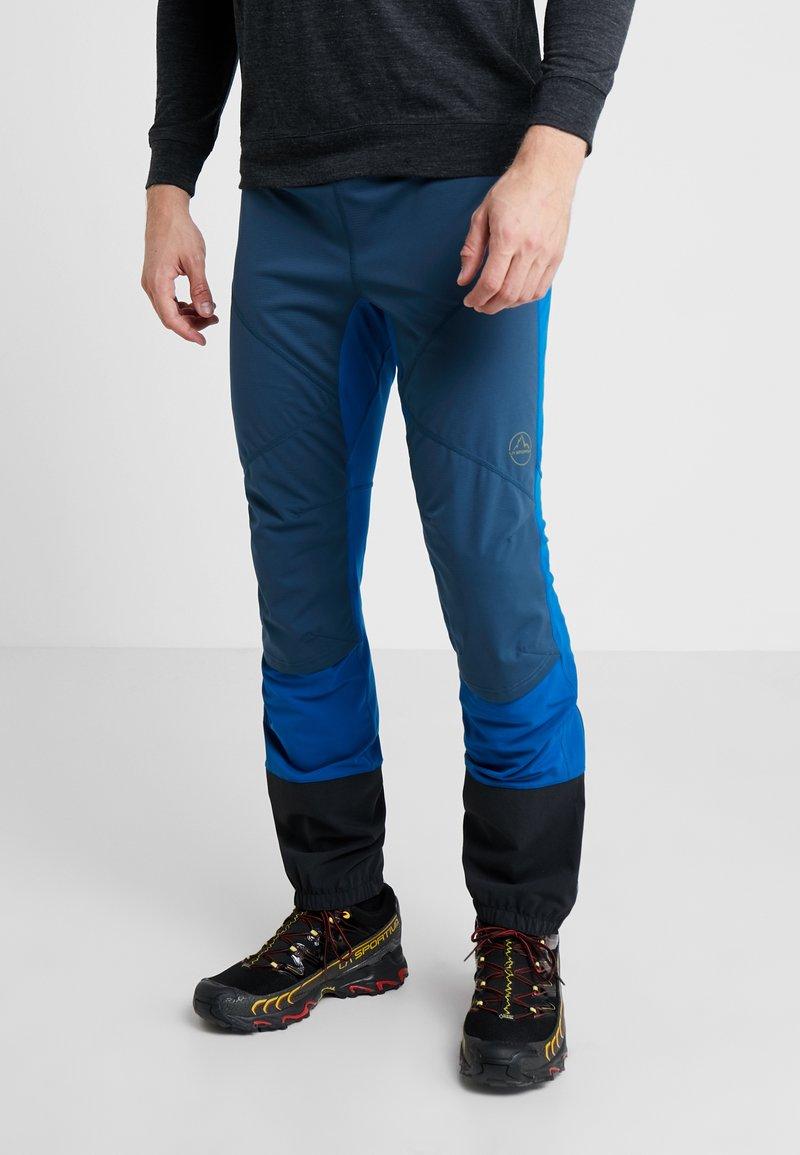 La Sportiva - AERO PANT - Trousers - opal/neptune