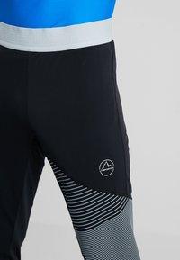 La Sportiva - RADIAL PANT  - Trainingsbroek - black/cloud - 6