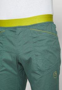 La Sportiva - ROOTS PANT  - Trousers - pine/kiwi - 3