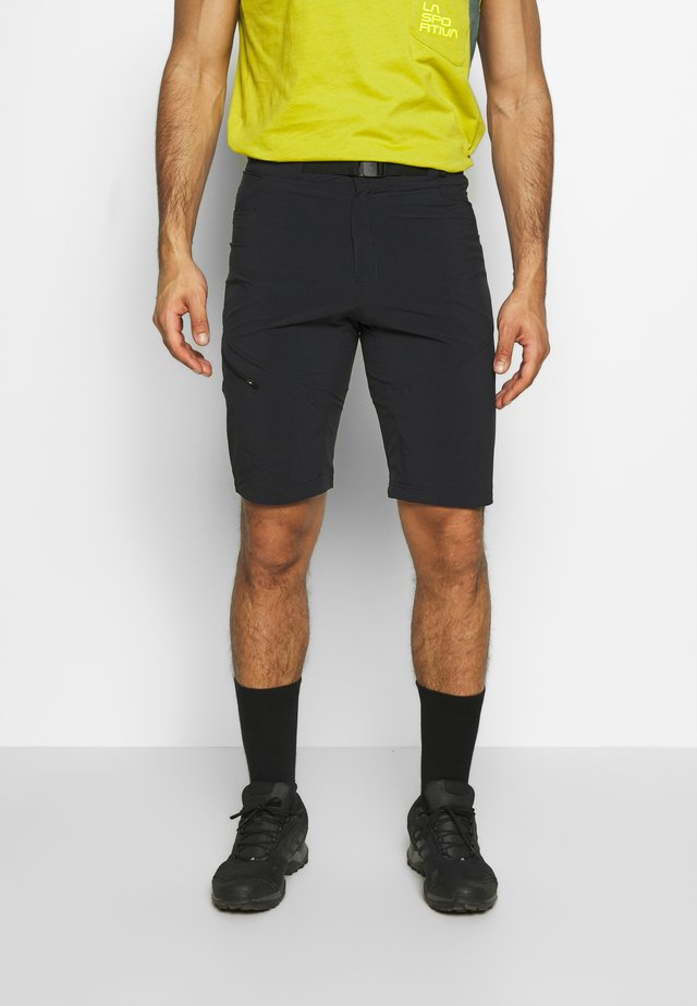 GRANITO SHORT - Korte broeken - black