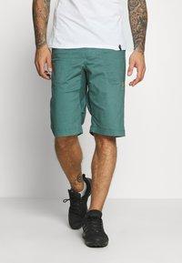 La Sportiva - FLATANGER SHORT  - Sports shorts - pine/kiwi - 0