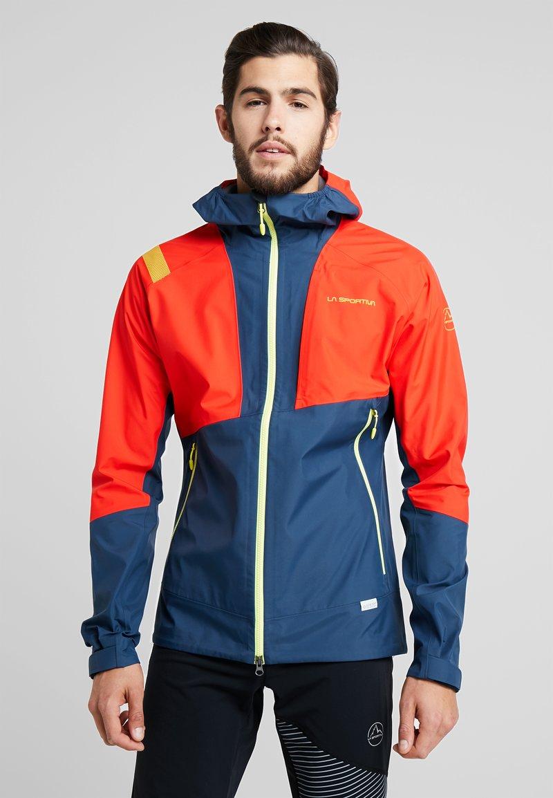 La Sportiva - MARS  - Hardshell jacket - poppy/opal