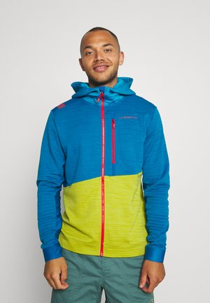 TRAINING DAY HOODY - Zip-up hoodie - neptune/kiwi