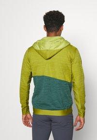 La Sportiva - TRAINING DAY HOODY - Zip-up hoodie - kiwi/pine - 2