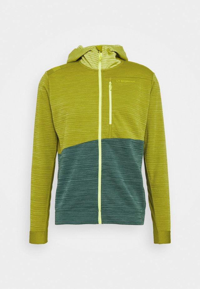 TRAINING DAY HOODY - Zip-up hoodie - kiwi/pine