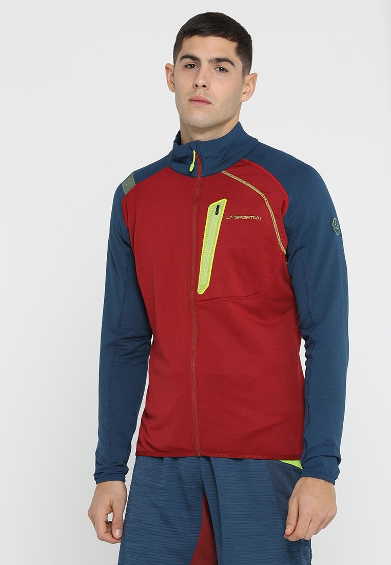 La Sportiva - SHAMAL - Fleece jacket - chili/opal