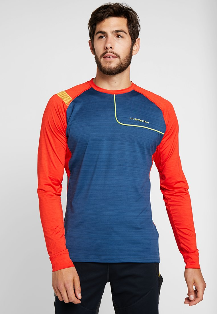 La Sportiva - TOUR LONG SLEEVE  - Sports shirt - opal/poppy