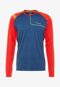 La Sportiva - TOUR LONG SLEEVE  - Sports shirt - opal/poppy - 4