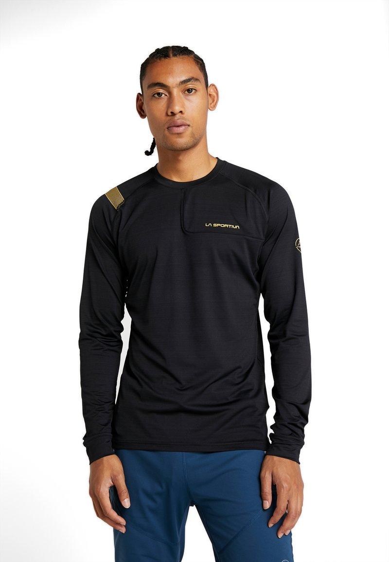 La Sportiva - TOUR LONG SLEEVE  - Camiseta de deporte - black