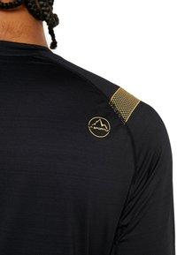 La Sportiva - TOUR LONG SLEEVE  - Camiseta de deporte - black - 4