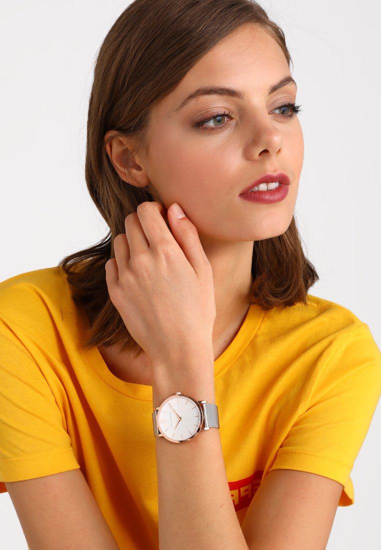Larsson & Jennings - LUGANO SOLARIS - Watch - rosegold/ white