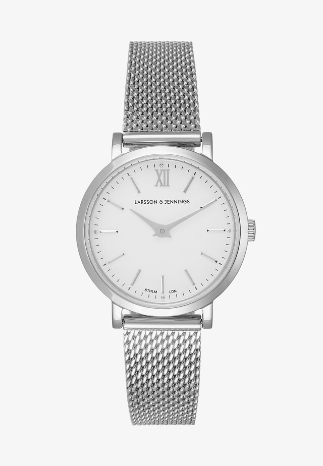 Watch - silver/white