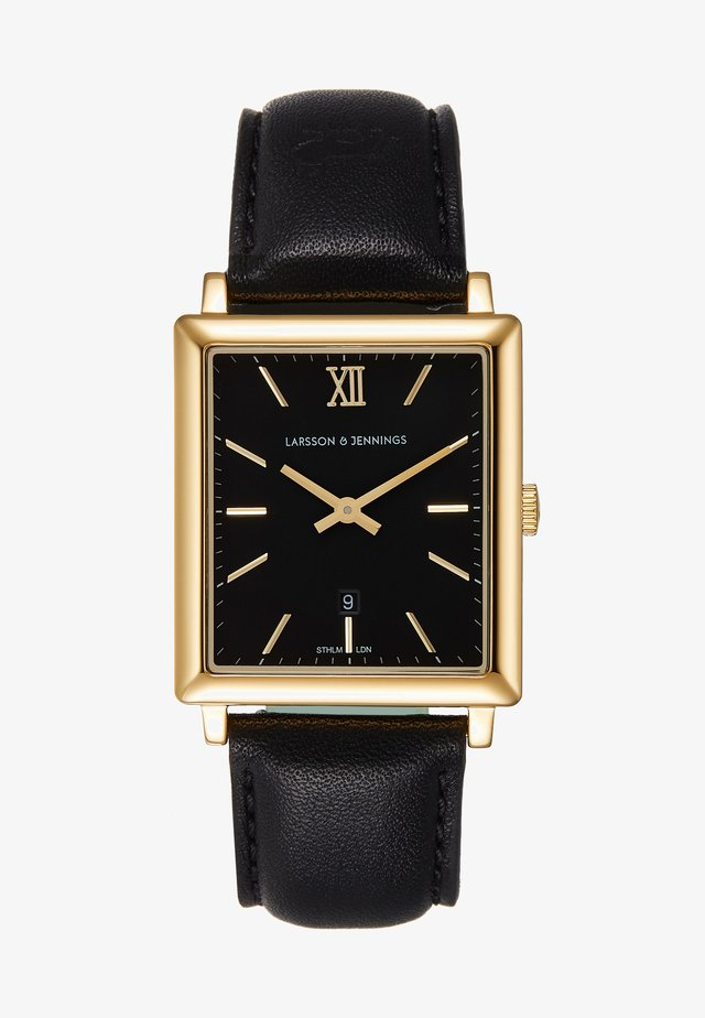 Horloge - gold-coloures/black