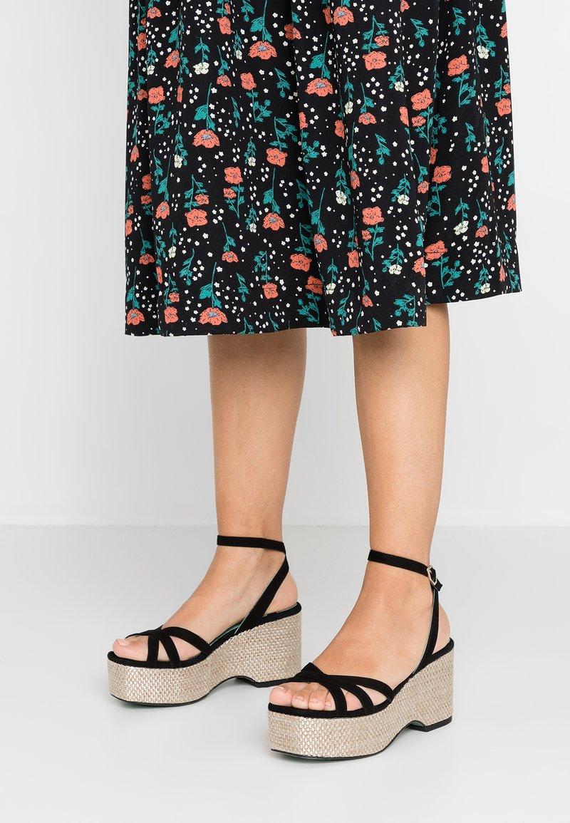 LAB - High Heel Sandalette - black
