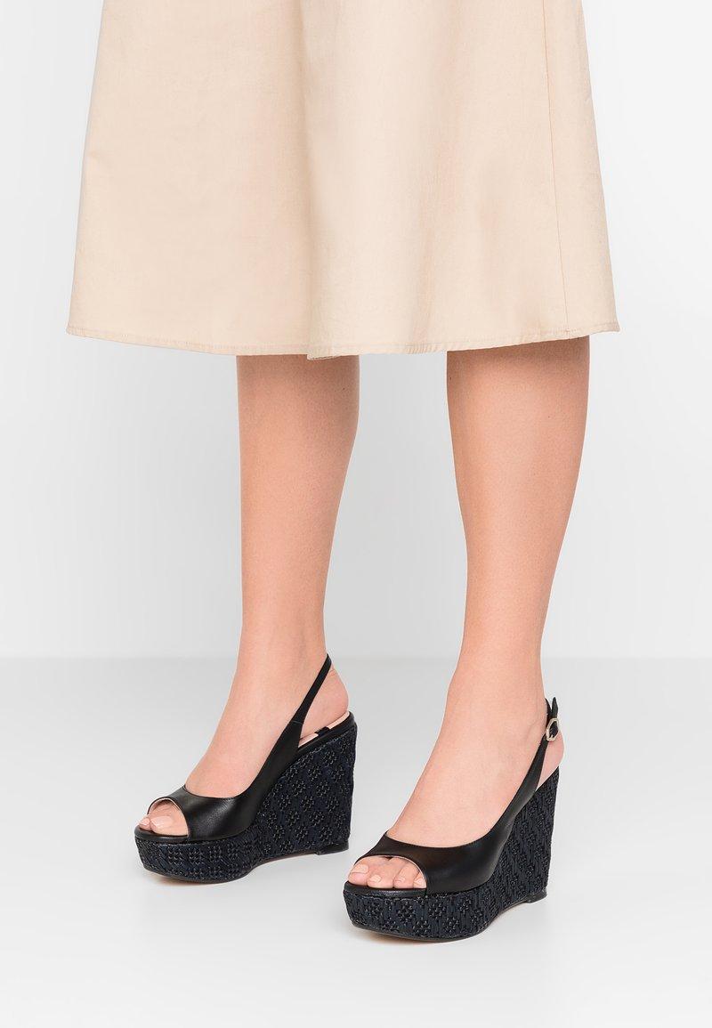 LAB - High heeled sandals - black