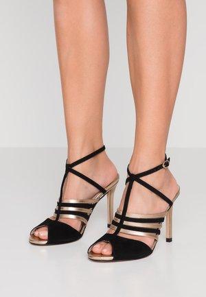 Sandalen met hoge hak - estrella