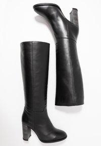 LAB - Boots med høye hæler - black - 3