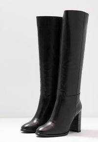 LAB - Boots med høye hæler - black - 4