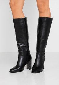 LAB - Boots med høye hæler - black - 0