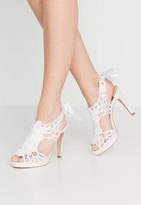 LAB - High heeled sandals - white - 0