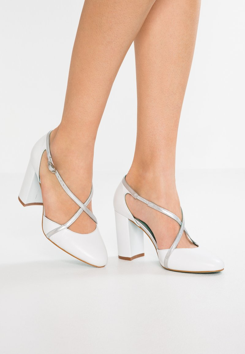 LAB - High Heel Pumps - tibet blanco/eclat lumiere