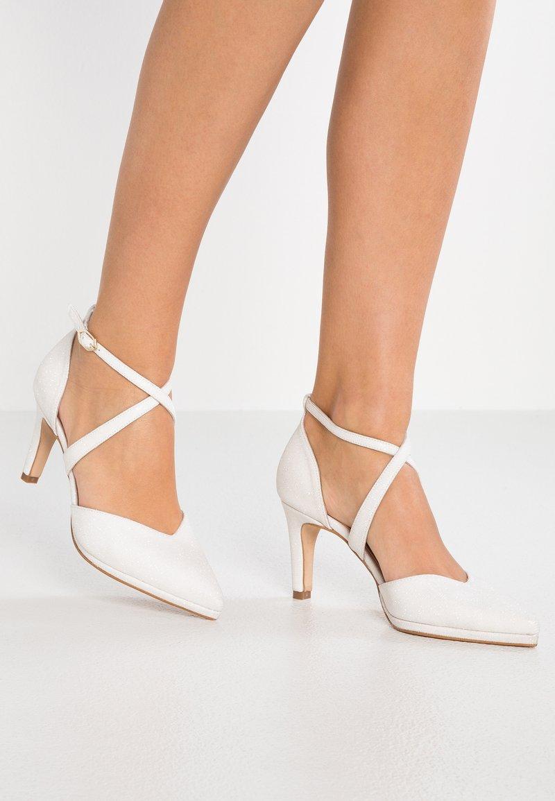 LAB - Svatební boty - galassia blanco