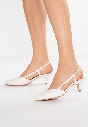 Svatební boty - galassia blanco