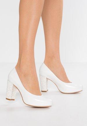 High Heel Pumps - casiopea nacar/fantasia blanco