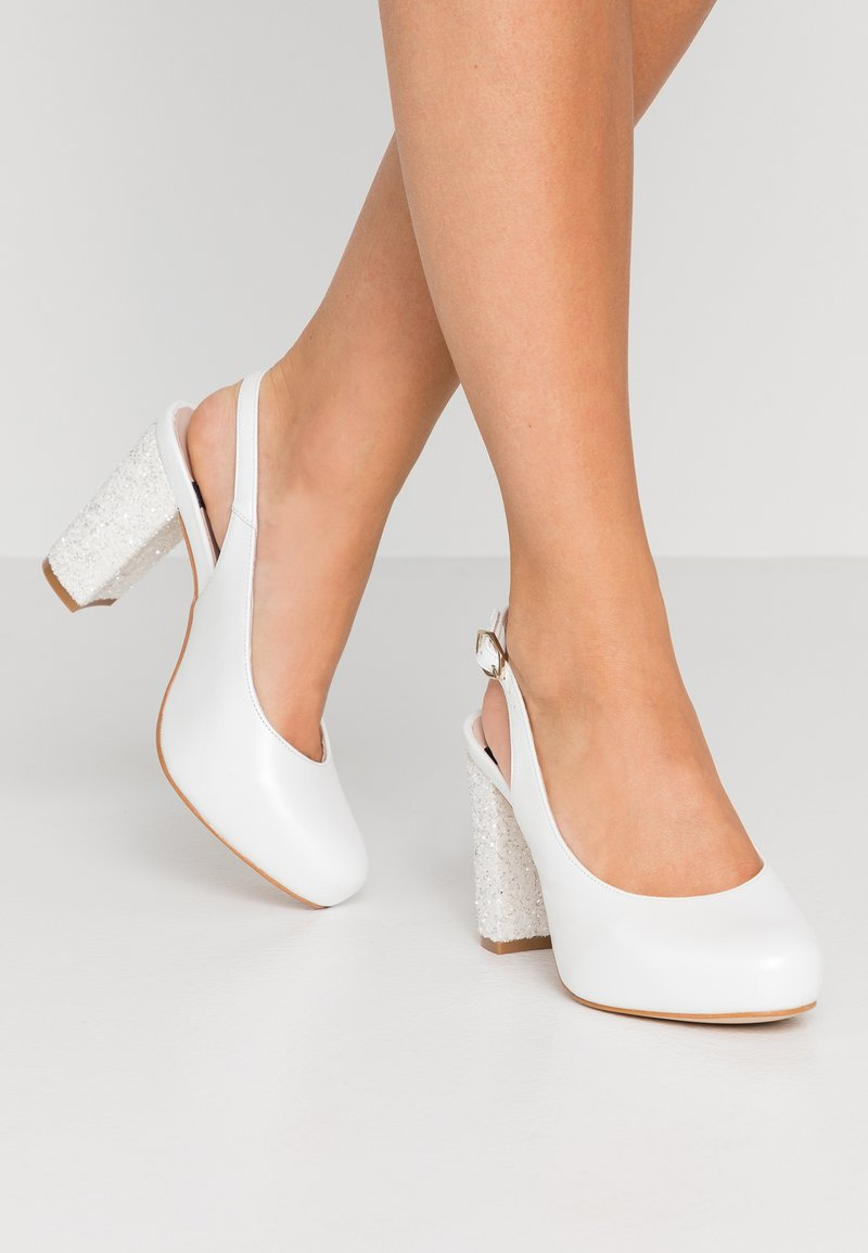 LAB - High Heel Pumps - fantasia blanco
