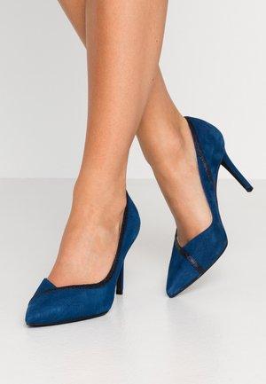 High heels - brillo marino