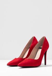 LAB - Zapatos altos - madrono - 4