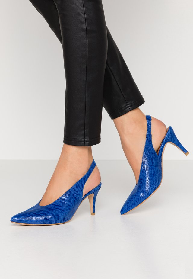 Klassiske pumps - blue lady