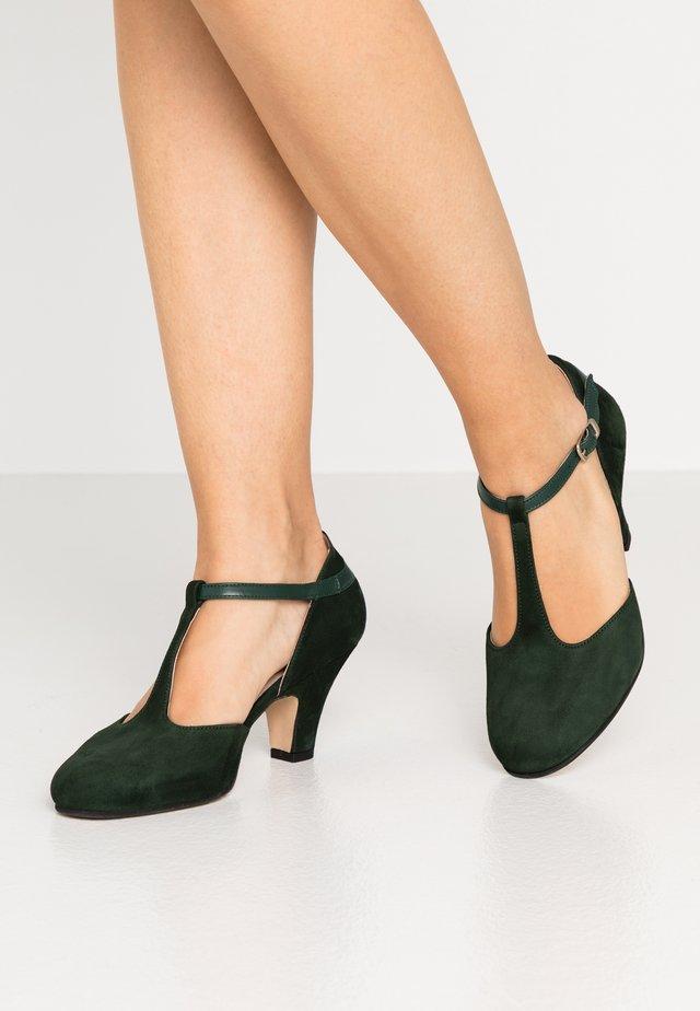 Czółenka - verde