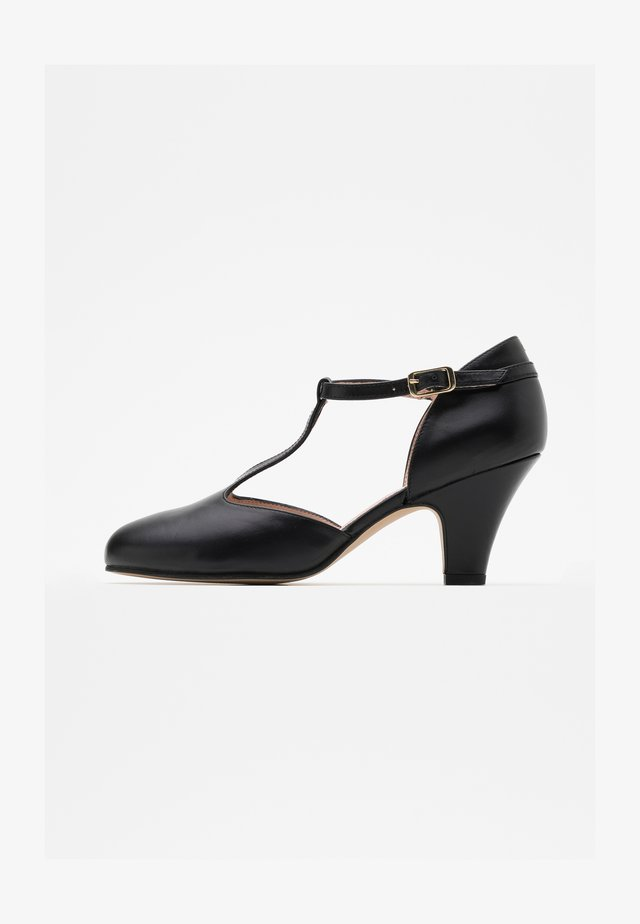 Klassiske pumps - tibet black